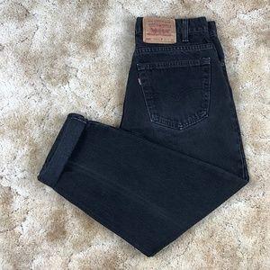 RARE! Levi's 550 Orange Tab High Waisted Mom Jeans